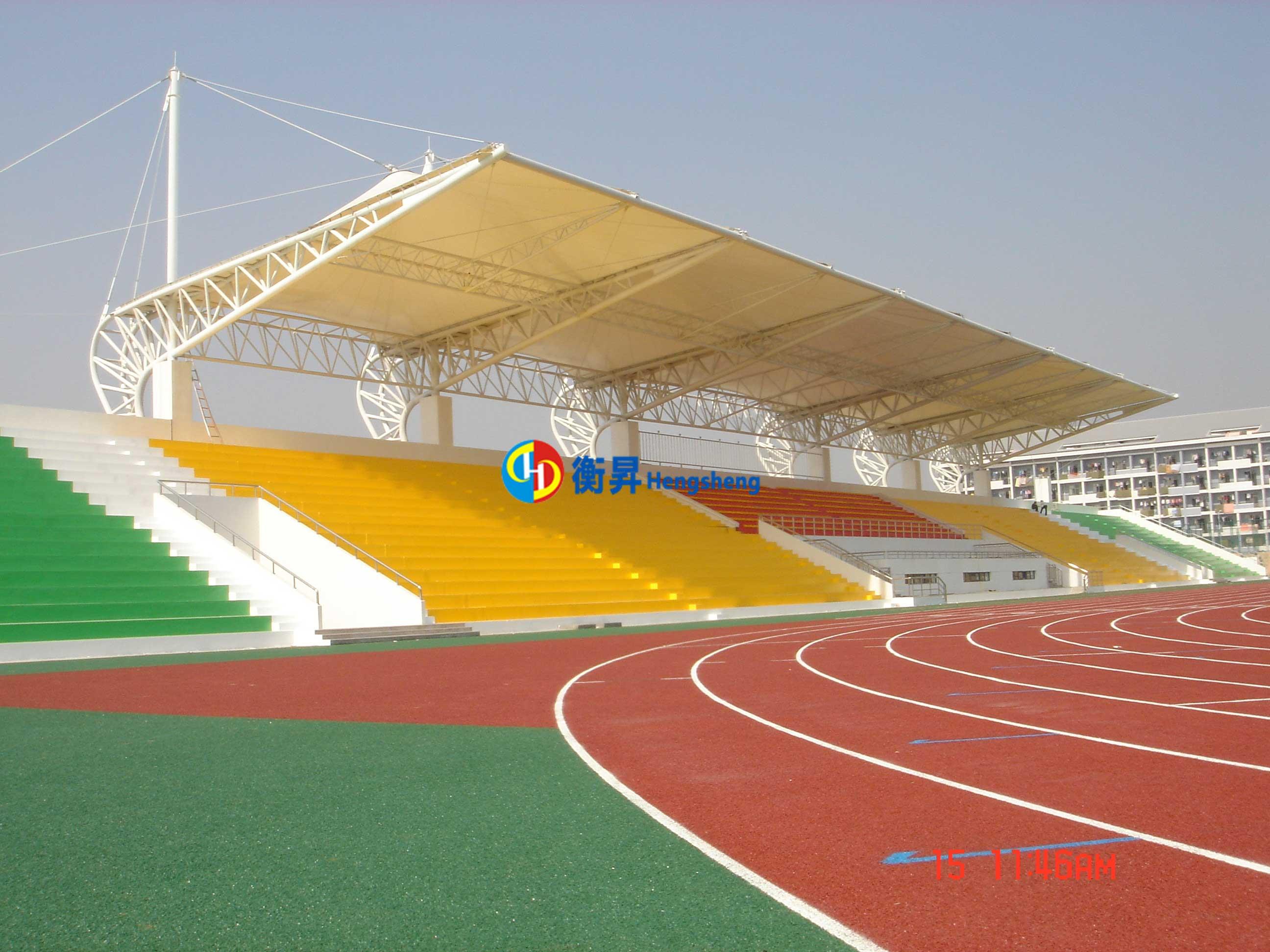 上海学校体育看台棚