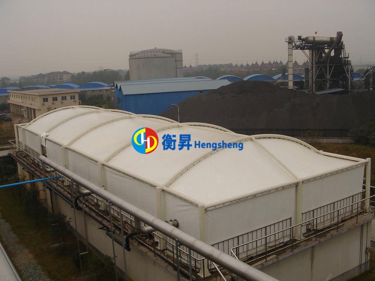 金华工厂污水池加盖